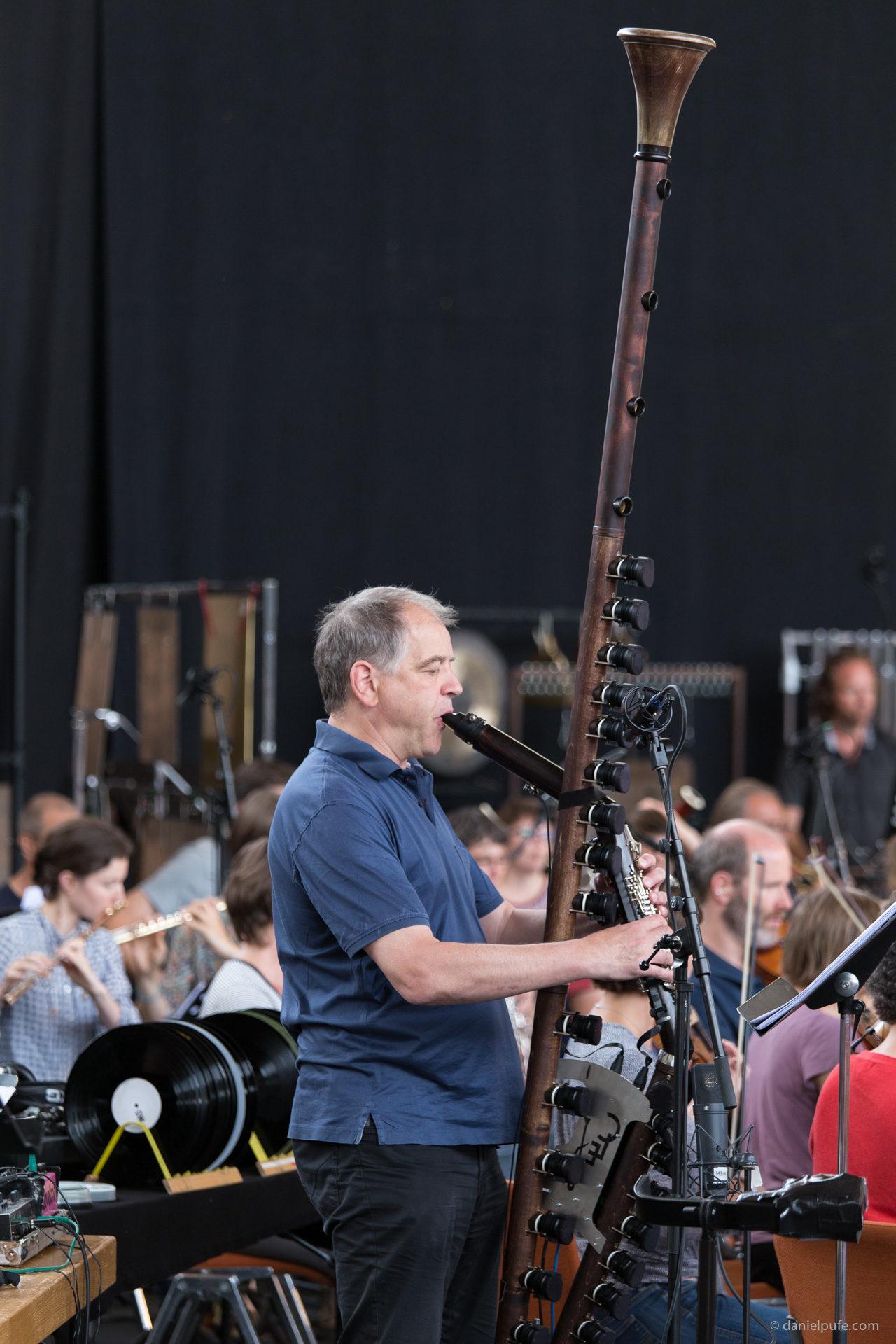 Probe - Clarinet Extended - Ernesto Molinari - Basel Sinfonietta