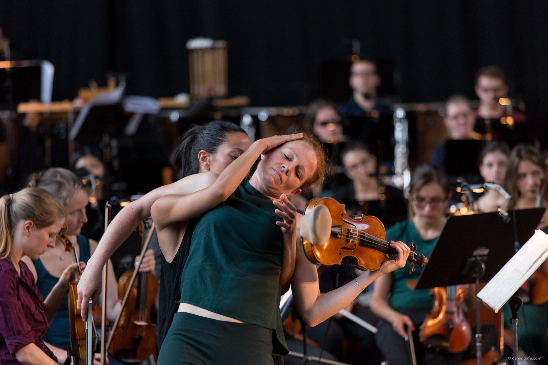 Probe Abschlusskonzert: Un/Ruhe - Sasha Waltz + Guests and Junge